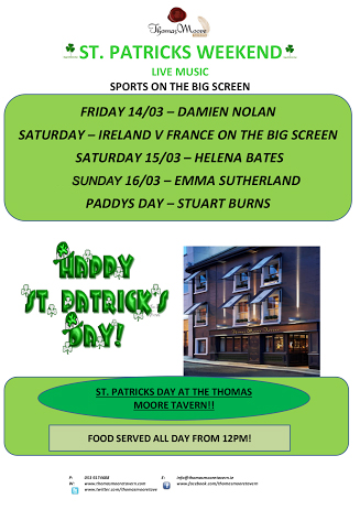 Paddys Weekend in Wexford Ireland