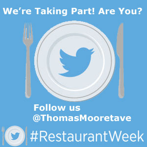 See You @ #RestaurantWeek