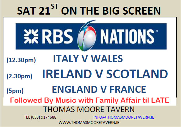 rbs 6 nations weekend