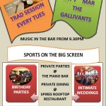 This weekend at TMTs