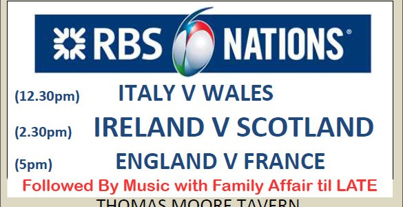 An RBS 6 Nations Weekend